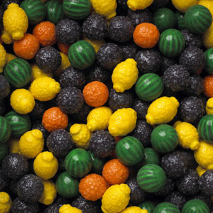 Fancy Fruit Gumballs - Bulk Gum Ball Refill