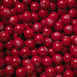 Hot Chew Cinnamon Gumballs - Bulk Gum Ball Refill