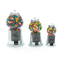 Chrome King Antique Gumball Machine