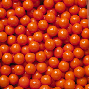 Outrageous Orange Gumballs - Bulk Gum Ball Refill