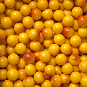 Peaches & Cream Gumballs - Bulk Gum Ball Refill