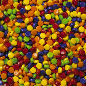 Pucker Ups / Coated Sour Candy - Bulk Candy Refill