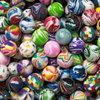 regular Mix Bouncy Balls