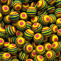 Round Stripe Bouncy Balls