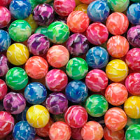 Stormy Bouncy Balls