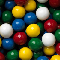 Mouthful Unfilled Gumballs